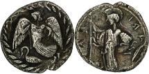 Ancient Coins - Coin, Sicily, Kamarina, Litra, EF(40-45), Silver, HGC:2-536