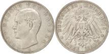 World Coins - German States, BAVARIA, Otto, 3 Mark, 1912, Munich, Silver, KM:996