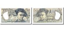 France, 50 Francs, 50 F 1976-1992 ''Quentin de La Tour'', 1989, KM:152d, 1989