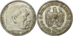 World Coins - Coin, GERMANY, THIRD REICH, 5 Reichsmark, 1935, Berlin, , Silver, KM:86