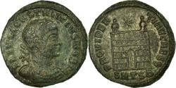 Ancient Coins - Coin, Constantius II, Follis, 327, Thessalonica, , Copper, RIC:158