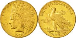 Us Coins - United States, Indian Head, $10, 1909, Philadelphia, , Gold, KM:130