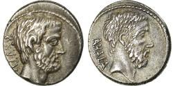 Ancient Coins - Coin, Junia, Denarius, 54 BC, Rome, , Silver, Crawford:433/2