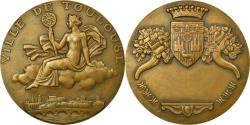World Coins - France, Medal, Ville de Toulouse, Guiraud, , Bronze