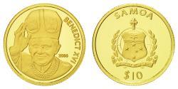 World Coins - Coin, Samoa, 10 Tala, 2006, , Gold, KM:164
