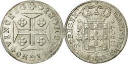 World Coins - Coin, Portugal, Jo, 400 Reis, Pinto, 480 Reis, 1807, Lisbon, , Silver