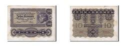World Coins - Austria, 10 Kronen, 1922, KM #75, EF(40-45), 002734