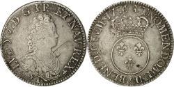 World Coins - Coin, France, Louis XV, Écu Vertugadin, Ecu, 1716, Paris, VF(30-35), Silver
