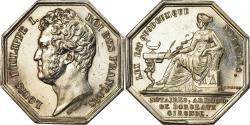 World Coins - France, Token, Louis Philippe Ier, Notaires de l'Arrondissement de Bordeaux