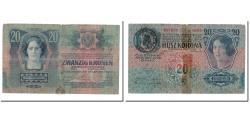 World Coins - Banknote, Austria, 20 Kronen, 1919, 1913-01-02, KM:53a, VG(8-10)