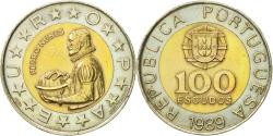 World Coins - Coin, Portugal, 100 Escudos, 1989, , Bi-Metallic, KM:645.2