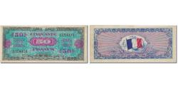 World Coins - France, 50 Francs, 1944 Flag/France, 1944, EF(40-45), Fayette:VF19.1, KM:117a