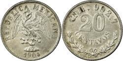 World Coins - Coin, Mexico, 20 Centavos, 1904, Culiacan, , Silver, KM:405