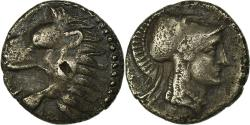 Ancient Coins - Coin, Pamphylia, Side, Obol, AU(50-53), Silver
