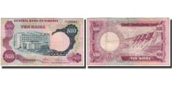 World Coins - Banknote, Nigeria, 10 Naira, Undated (1973-78), KM:17a, VF(30-35)