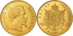 Ancient Coins - Coin, France, Napoleon III, 100 Francs, 1857, Paris, , Gold, KM:786.1