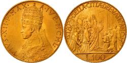World Coins - Coin, VATICAN CITY, Pius XII, 100 Lire, 1950, , Gold, KM:48