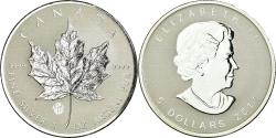 World Coins - Coin, Canada, Elizabeth II, 5 Dollars, 2011, Royal Canadian Mint,