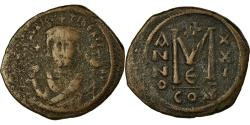 Ancient Coins - Coin, Maurice Tiberius, Follis, 602-603, Constantinople, , Copper