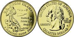 Us Coins - Coin, United States, U.S Virgin Islands, Quarter, 2009, U.S. Mint,