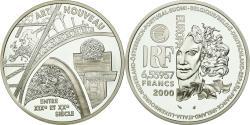 World Coins - Coin, France, Europa - L'art nouveau, 6.55957 Francs, 2000, Paris,