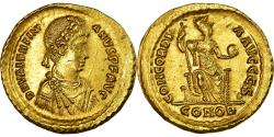 Coin, Valentinian II, Solidus, 388-392, Constantinople, , Gold, RIC:69b