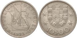 World Coins - Portugal, 10 Escudos, 1973, Lisbon, , Copper-Nickel Clad Nickel, KM:600