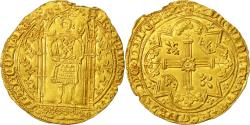Ancient Coins - Coin, France, Charles V, Franc à pied, AU(50-53), Gold, Duplessy:360