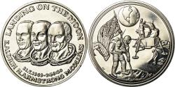 Us Coins - United States of America, Medal, Landing on the Moon, N.Amstrong, Sciences &
