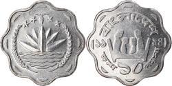 World Coins - Coin, Bangladesh, 10 Poisha, 1994, , Aluminum, KM:11.2
