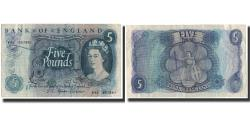 World Coins - Banknote, Great Britain, 5 Pounds, 1966, KM:375b, EF(40-45)