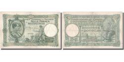 World Coins - Banknote, Belgium, 1000 Francs-200 Belgas, 1939, 1939-12-20, KM:104, VF(30-35)