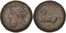 Ancient Coins - Sicily, Timoléon (344-336 Bf JC), Zeus, Drachm, Syracuse, ,...