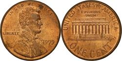 Us Coins - Coin, United States, Lincoln Cent, Cent, 1999, U.S. Mint, Philadelphia