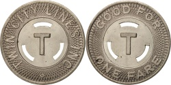 Us Coins - United States, Token, Twin City Lines Inc.