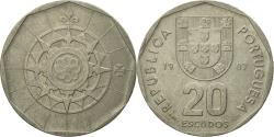 World Coins - Coin, Portugal, 20 Escudos, 1987, Lisbon, , Copper-nickel, KM:634.1