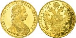World Coins - Coin, Austria, Franz Joseph I, 4 Ducat, 1915, Vienne, Official restrike