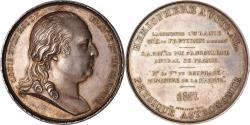 World Coins - France, Medal, Louis XVIII, Tour du Monde, La Corvette, L'Uranie, 1817, Andrieu
