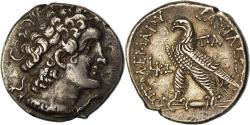 Ancient Coins - Coin, Egypt, Ptolemaic Kingdom, Ptolemy VIII, Tetradrachm, 144-143 BC, Paphos