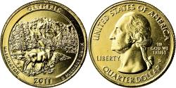 Us Coins - Coin, United States, Olympic, Quarter, 2011, U.S. Mint, , Gold plated