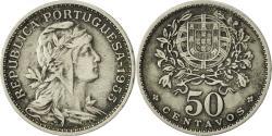 World Coins - Portugal, 50 Centavos, 1955, , Copper-nickel, KM:577