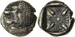 Ancient Coins - Coin, Ionia, Miletos, Diobol, 520-450 BC, , Silver, SNG-Cop:953
