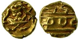 World Coins - Coin, INDIA-PRINCELY STATES, MYSORE, Krishna Raja Wodeyar, Fanam, 1810-1868