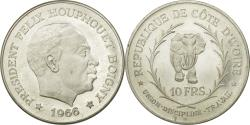 World Coins - Coin, Ivory Coast, Félix Houphouet, 10 Francs, 1966, , Silver, KM:1