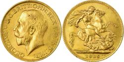 World Coins - Coin, Great Britain, George V, Sovereign, 1915, London, , Gold, KM:820