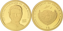 World Coins - Palau, Dollar, 2009, CIT, , Gold, KM:239