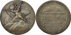 World Coins - France, Medal, Assemblée Nationale, P.Gavelle, Sténographe, 1958, Benard