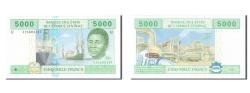World Coins - Central African States, 5000 Francs, 2002, KM #209U, UNC(65-70), U 316604147