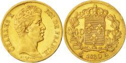 Ancient Coins - Coin, France, Charles X, 40 Francs, 1830, Paris, AU(50-53), Gold, KM:721.1