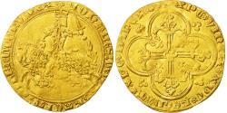 Ancient Coins - France, Jean II le Bon, Franc à cheval, AU(50-53), Gold, Duplessy:294